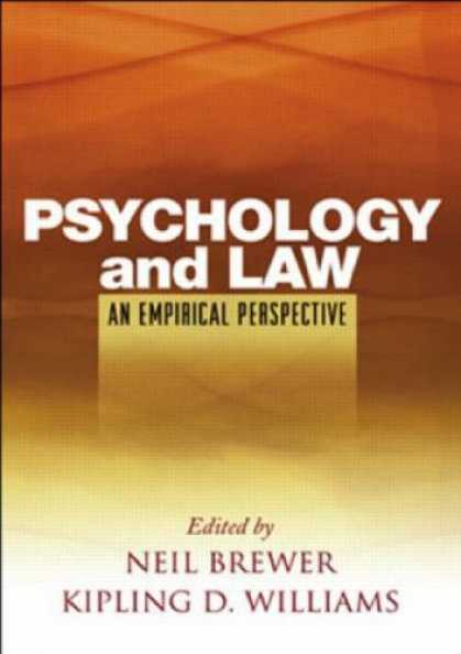 Books About Psychology - Psychology and Law: An Empirical Perspective