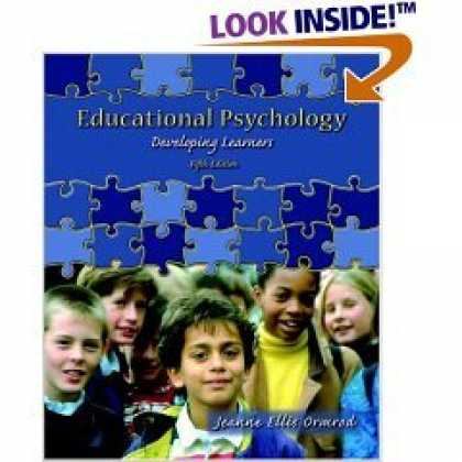 Books About Psychology - Ormrod 'Educational Psychology - Developing Learners' - 5th (Fifth) Edition (200