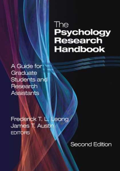 Books About Psychology - The Psychology Research Handbook: A Guide for Graduate Students and Research Ass