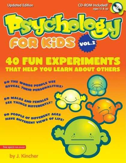 Books About Psychology - Psychology for Kids, Vol. 2: 40 Fun Experiments That Help You Learn About Others