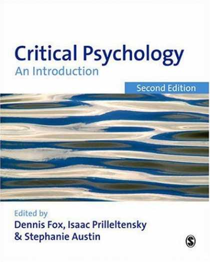 Books About Psychology - Critical Psychology: An Introduction