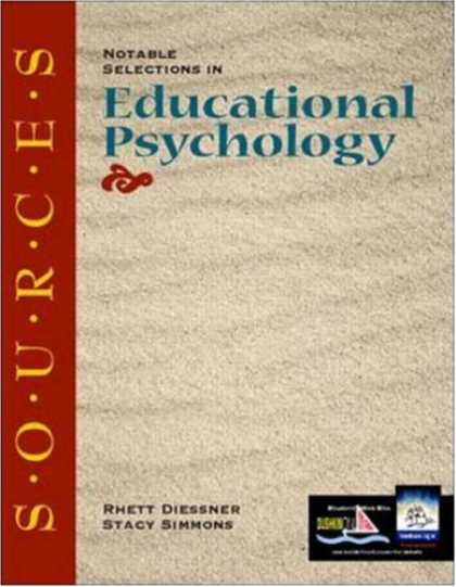 Books About Psychology - Sources: Notable Selections in Educational Psychology