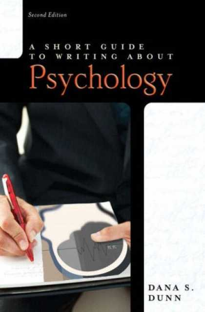 Books About Psychology - Short Guide to Writing about Psychology (2nd Edition) (Short Guides Series)