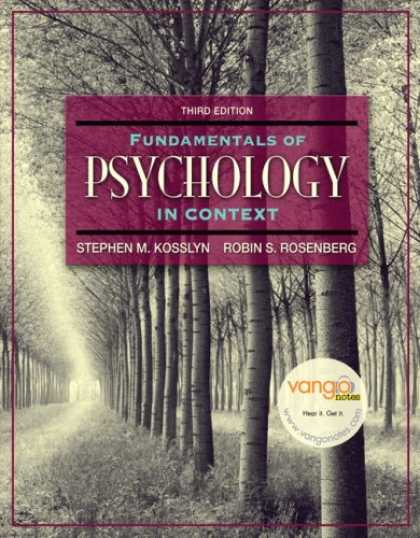 Books About Psychology - Fundamentals of Psychology in Context Value Package (includes Grade Aid Workbook