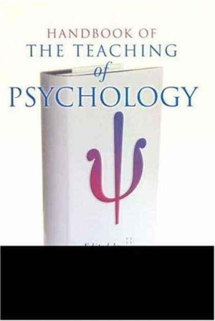 Books About Psychology - Handbook of the Teaching of Psychology