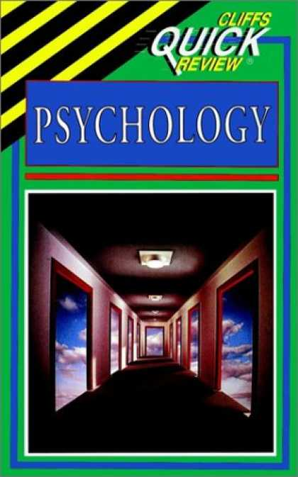 Books About Psychology - Psychology (Cliffs Quick Review)