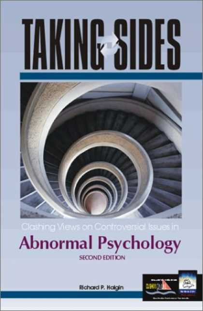 Books About Psychology - Taking Sides: Clashing Views on Controversial Issues in Abnormal Psychology