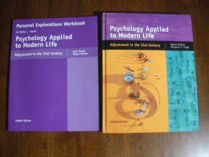 Books About Psychology - Psychology Applied to Modern Life Adjustment in the 21st Century with Workbook 8