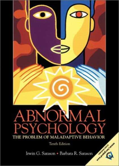 Books About Psychology - Abnormal Psychology: The Problem of Maladaptive Behavior (10th Edition)