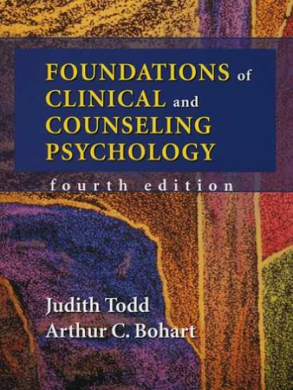 Books About Psychology - Foundations of Clinical and Counseling Psychology