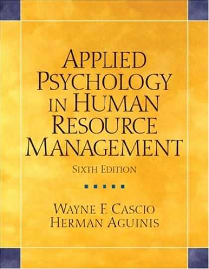 Books About Psychology - Applied Psychology in Human Resource Management (6th Edition)