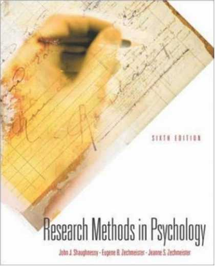 Books About Psychology - Research Methods in Psychology with PowerWeb