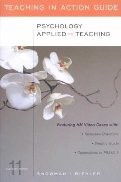 Books About Psychology - Psychology Applied to Teaching, 11th Edition (Teaching in Action Guide)