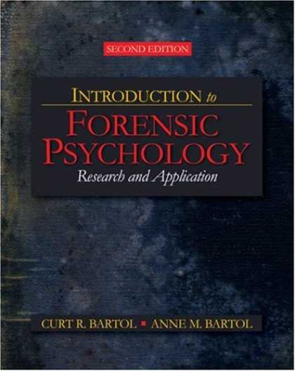 Books About Psychology - Introduction to Forensic Psychology: Research and Application