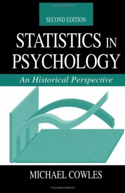 Books About Psychology - Statistics in Psychology: An Historical Perspective