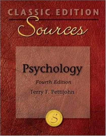 Books About Psychology - Classic Edition Sources: Psychology