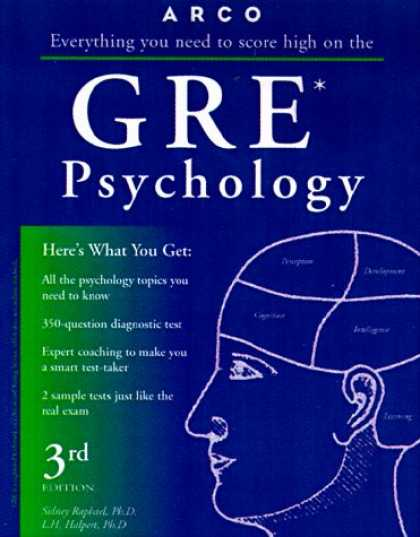 Books About Psychology - GRE Psychology 3E (Academic Test Preparation Series)