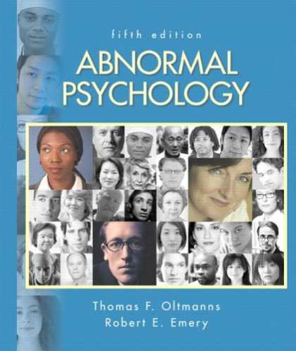 Books About Psychology - Abnormal Psychology (5th Edition)