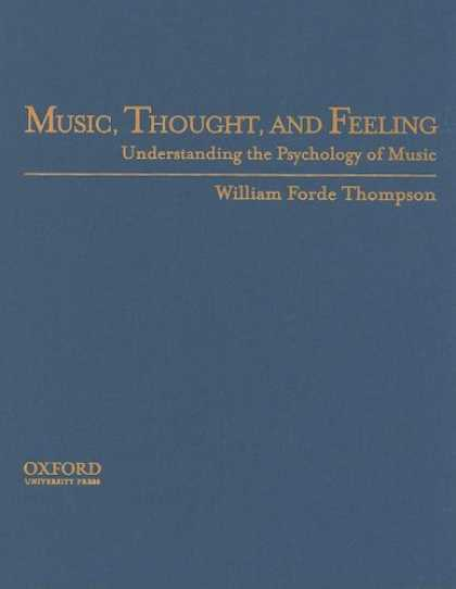 Books About Psychology - Music, Thought, and Feeling: The Psychology of Music
