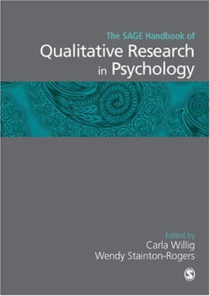 Books About Psychology - The SAGE Handbook of Qualitative Research in Psychology