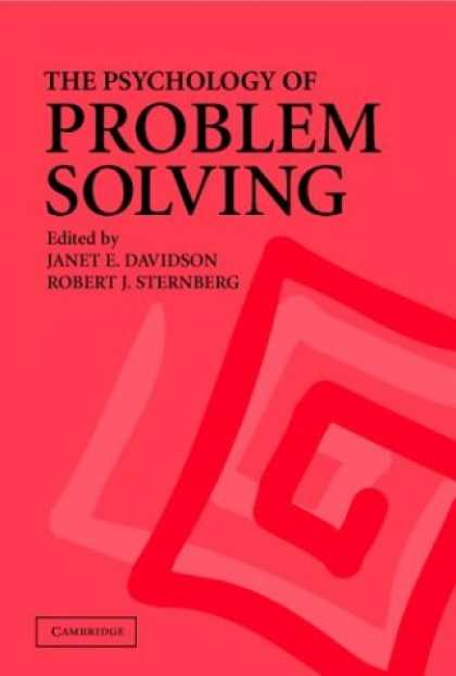 Books About Psychology - The Psychology of Problem Solving