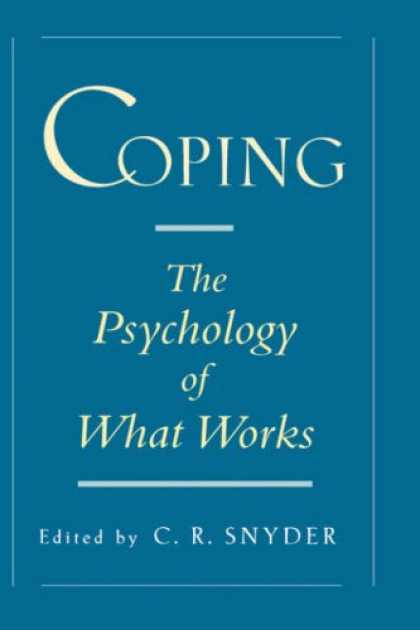Books About Psychology - Coping: The Psychology of What Works