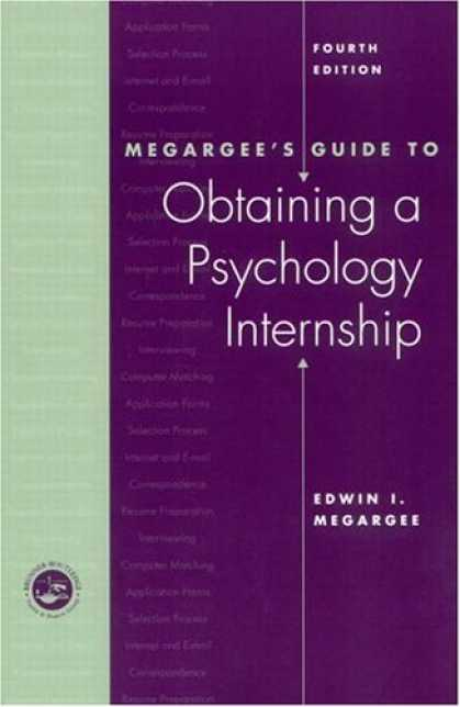 Books About Psychology - Megargee's Guide to Obtaining a Psychology Internship