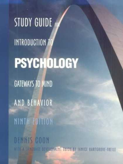Books About Psychology - Study Guide for Introduction to Psychology: Gateways to Mind and Behavior, 9th