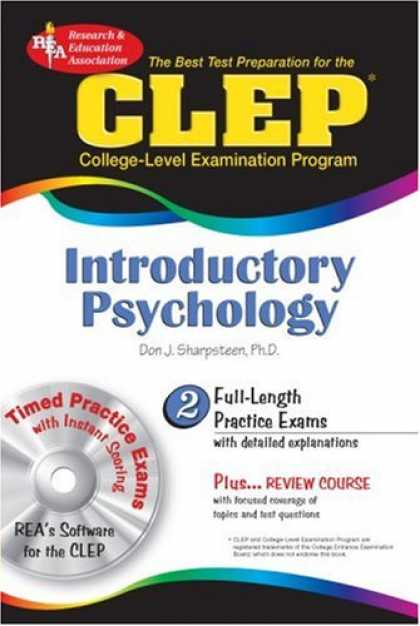 Books About Psychology - CLEP Introductory Psychology (REA) - The Best Test Prep for the CLEP (Test Preps