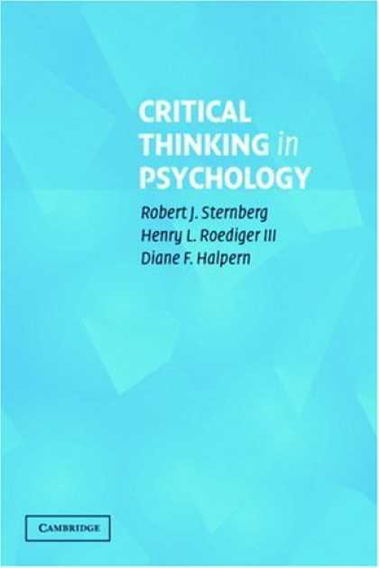 Books About Psychology - Critical Thinking in Psychology