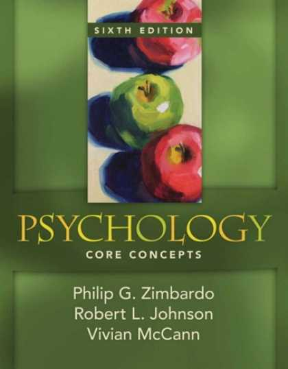 Books About Psychology - Psychology: Core Concepts (6th Edition) (MyPsychLab Series)