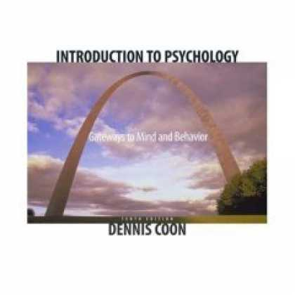 Books About Psychology - Dennis Coon 'Introduction to Psychology - Gateway to Mind and Behavior' - 10th (