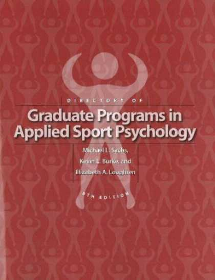 Books About Psychology - Directory Of Graduate Programs In Applied Sport Psychology