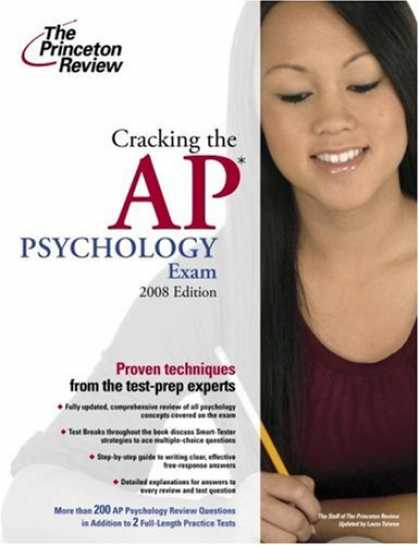 Books About Psychology - Cracking the AP Psychology Exam, 2008 Edition (College Test Preparation)