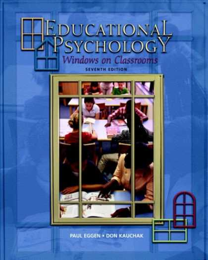 Books About Psychology - Educational Psychology: Windows on Classrooms (7th Edition)