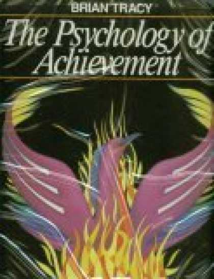 Books About Psychology - The Psychology Of Achievement, By Brian Tracy, 6 Audio Cassettes