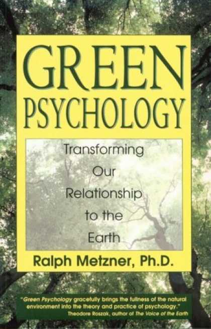 Books About Psychology - Green Psychology: Transforming our Relationship to the Earth