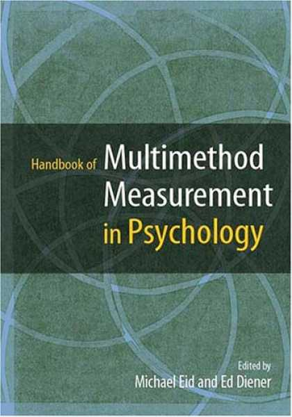 Books About Psychology - Handbook of Multimethod Measurement in Psychology