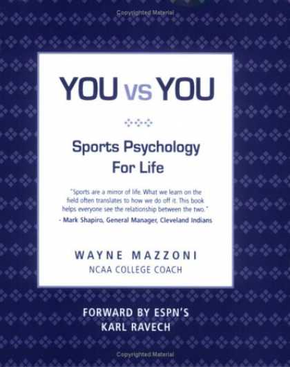 Books About Psychology - You vs. You: Sport Psychology for Life