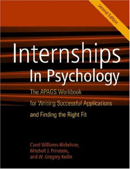 Books About Psychology - Internships in Psychology: The APAGS Workbook for Writing Successful Application