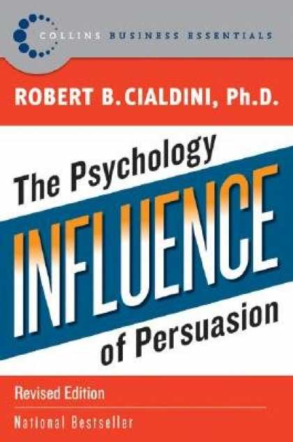 Books About Psychology - Influence: The Psychology of Persuasion [INFLUENCE REV/E]