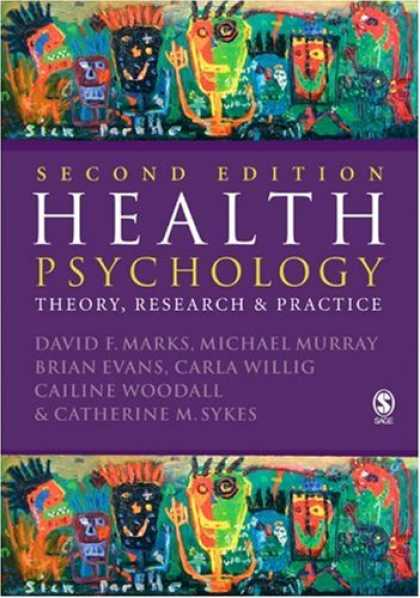 Books About Psychology - Health Psychology: Theory, Research and Practice