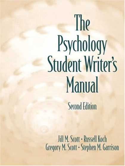 Books About Psychology - Psychology Student Writer's Manual, The (2nd Edition)