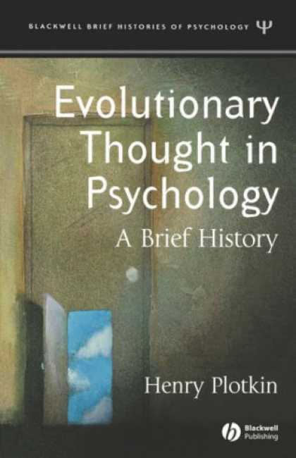 Books About Psychology - Evolutionary Thought in Psychology: A Brief History (Blackwell Brief Histories o