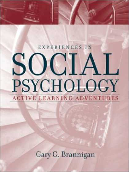 Books About Psychology - Experiences in Social Psychology: Active Learning Adventures