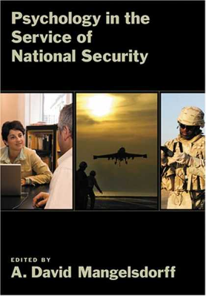 Books About Psychology - Psychology in the Service of National Security