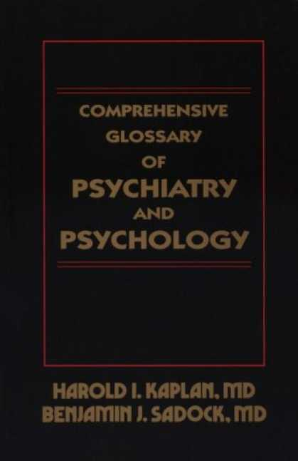 Books About Psychology - Comprehensive Glossary of Psychiatry and Psychology