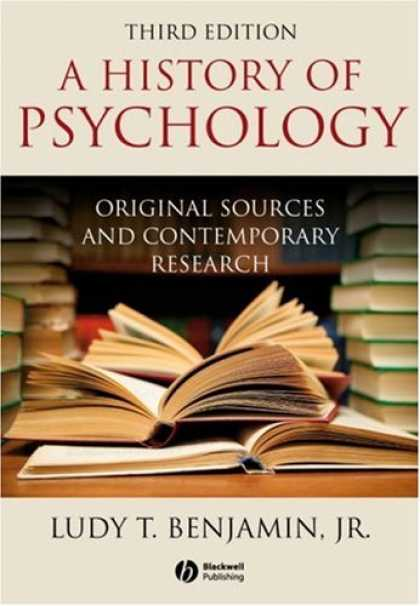 Books About Psychology - History of Psychology: Original Sources and Contemporary Research