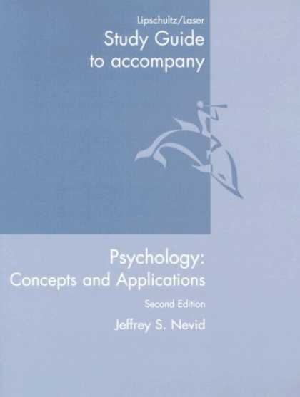 Books About Psychology - Study Guide: Used with ...Nevid-Psychology: Concepts and Applications