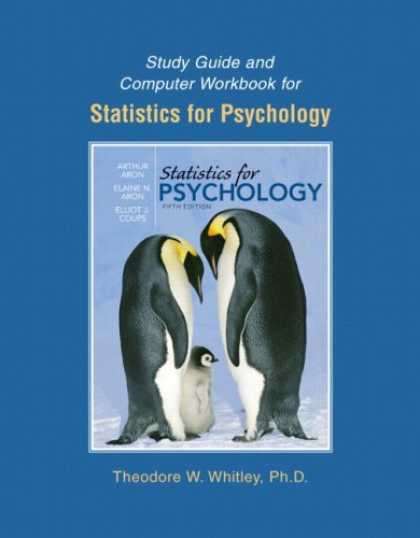 Books About Psychology - Study Guide and Computer Workbook for Statistics for Psychology